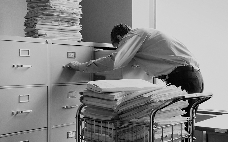 How File Cabinets Are Putting Your Business at Risk